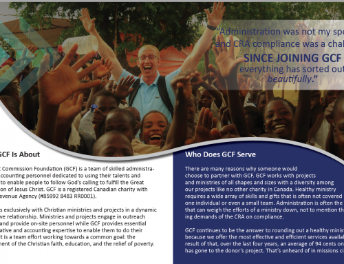 Information about Great Commission Foundation